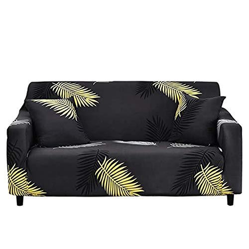 YWTT Fundas de sofá elásticas de 1 Pieza - Fundas de sofá elásticas Ajustadas con Estampado de Spandex - Protector de Muebles de Asiento Estampado para Sala de Estar (1/2/3/4 Asiento)