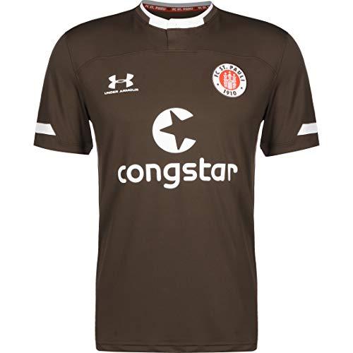Under Armour FC St. Pauli Trikot Home 2019/2020 Herren braun/weiß, S