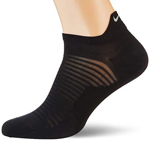 NIKE U NK Spark Ltwt Ns Socks, Unisex adulto, Black/ Reflective, 6-7.5