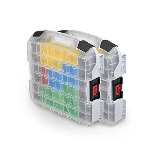 Bosch Sortimo W-BOXX 102 - Caja organizadora con tapa (2 unidades)
