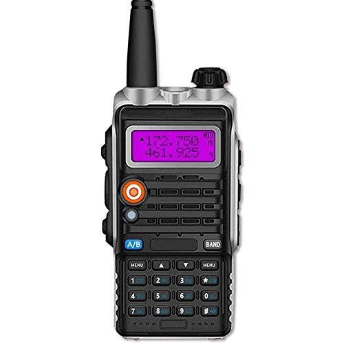 DGHJK Radios bidireccionales de Largo Alcance Recargables, walkie talkies con interfono, intercomunicador Inteligente de Mano de Alta Potencia Walkie de ingeniería a Prueba de Agua