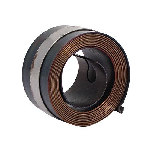 Aexit 25mm Säulen- & Tischbohrmaschinen Breite Auto Rückstellbohrer Press Feder Futter Rücklauf Spule Säulenbohrmaschinen Feder grau