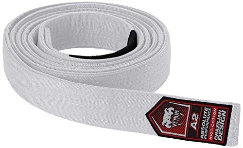 Venum Unisex Erwachsene Gürtel Brazilian Jiu-Jitsu Belt, Weiß, A2
