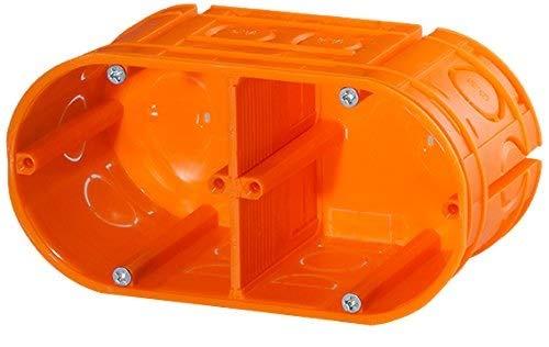 f-tronic inbouw-gereedschapsdoos massief, 2-voudig, 63mm diep, UP20, inhoud: 10, stuks