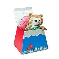 【プティルウ】可愛いお祝い、富士山おめでタイプチギフト (ラクーンセット)