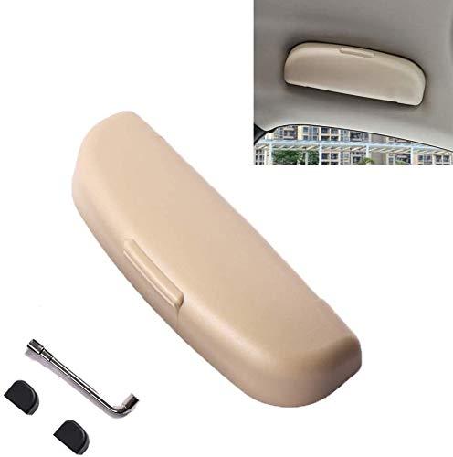 LFOTPP XC40 XC60 XC90 Estuches de Gafas para Coche, Funda de Gafas Interior Accesorios (Beige)