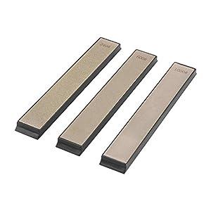 41zKXJhJxML. SS300  - Conjunto de piedras afiladas, Afilador de Cuchillos Profesional Grano 240/600/1000