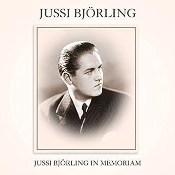 Jussi Bjorling In Memoriam