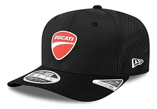 New Era - Ducati Badge 9Fifty Stretch Snapback Cap - Schwarz Farbe Schwarz, Größe S-M