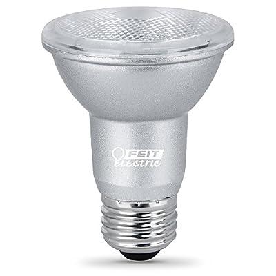 """Feit Electric PAR20DM/930CA/4 5W 50W Equivalent Dimmable 450 Lumen CEC Compliant Energy Star LED PAR20 Flood Reflector Light Bulb, 3.2""""H x 2.5""""D, 3000K (Warm White), 4 Piece"""