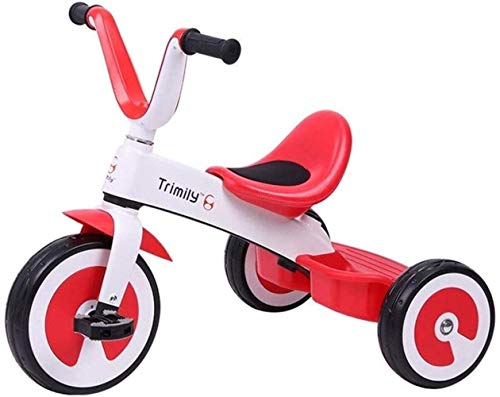 Tricycle Kinderpaard tricle wagen, kleine kinderen fiets kleine kinderen buiten baby-fiets binnenin tricycle 2 in 1 tricycles kinderen 1-3-6 jaar opbergdoos