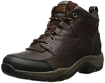 Ariat Women's Terrain Hiking Boot, Cordovan, 7.5 B US