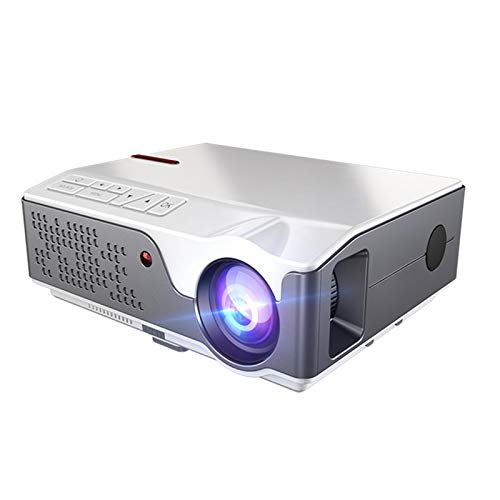 HEN'GMF Proyector Full HD 7000 Lúmenes Proyector Nativo 1920x * 1080P Proyector Digital de 50 Grados Teatro.