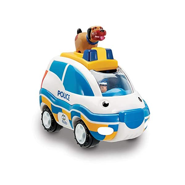 Jumbo Games Wow Toys - Police Chase Charlie, Coche de Juguete (04050)
