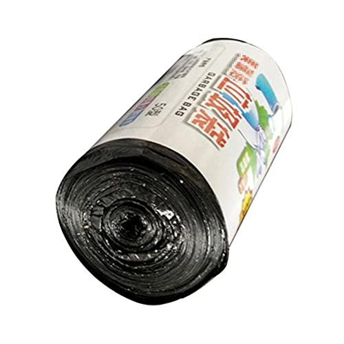 ZHENZEN 5 rollos 15 por rollo Bolsas De Basura Comerciales Bolsa De Basura Estilo Chaleco Bolsa De Basura Doméstica Biodegradable Bolsa De Almacenamiento Desechable Portátil Herramienta De Limpieza