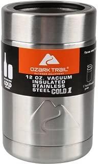 ozark stainless steel koozie
