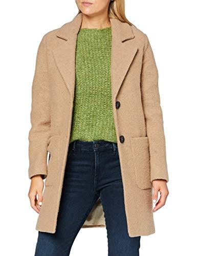 More & More Damen Wollmischungs-Mantel, 0233, 34