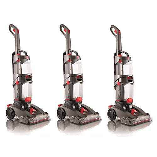 Great Features Of Hoover 1 Gallon Dual Power Path Max Advanced Pet Upright Carpet Cleaner (3 Pack)