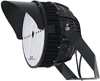 67,000 Lumen LED Area Light – 500 Watt LED Sports Light – Super Efficiency 140 Lumen to Watt - 5000K Bright White - 30 Degree - Stadium Light - High Mast Light - 10KV Surge & DLC Premium
