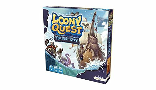 Asmodee – Brettspiel Loony Quest The Lost City (ade0loo02es)