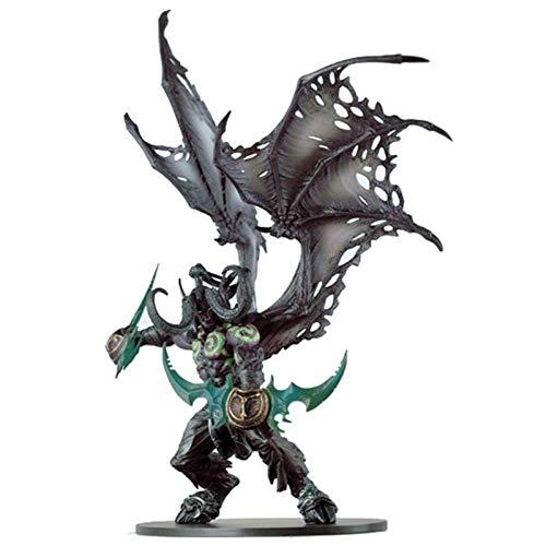 ZFF-DM World of Warcraft Illidan Figma Regalo Creativo Figura de acción de la Estatua (Color : Natural)