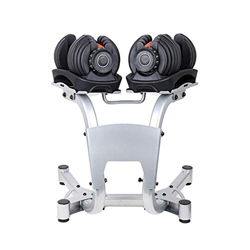 AVOA Soporte de mancuernas de acero para levantamiento de pesas con soporte de pesas para el piso, soporte para pesas
