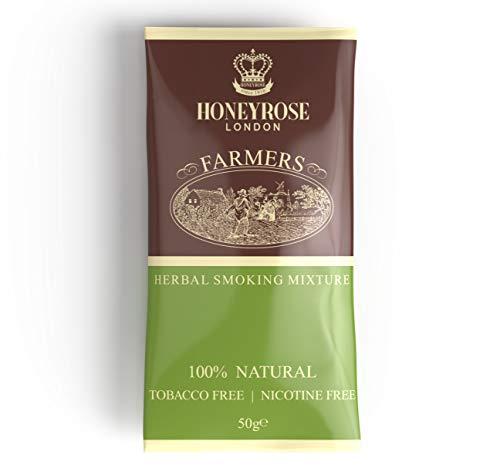 "Honeyrose ""Farmer's HoneyBlend"" Herbal Mixture, Tobacco Free - Nicotine Free"