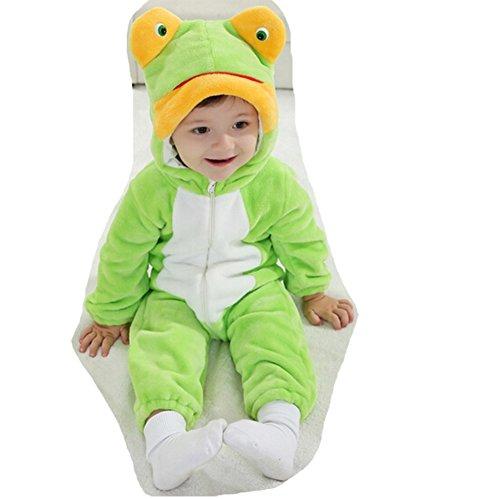 OHmais Bébé Fille garçon Unisexe Grenouillère Costume Deguisement Combinaison Pyjamas vêtement Printemps Automne Grenouille