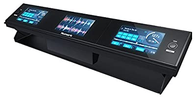 Numark Dashboard Hi-Resolution 3-Screen DJ Display for any Serato DJ Controller and DVS 1:1 Real Time Visual Feedback of Serato DJ