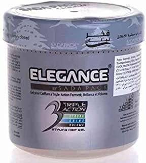 Elegance Styling Hair Gel Honey, 1000 ml