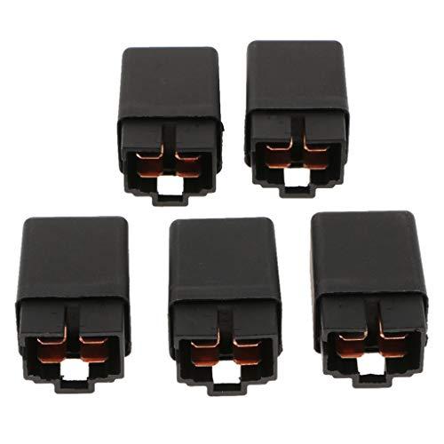 5 Piezas 30a Relés para Automóviles 4 Pin Spst 12v Abierto Relay Power Control