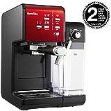 Breville PrimaLatte II Kaffee- und Espressomaschine VFC109X-01, 19 bar, für Kaffeepulver oder Pads...