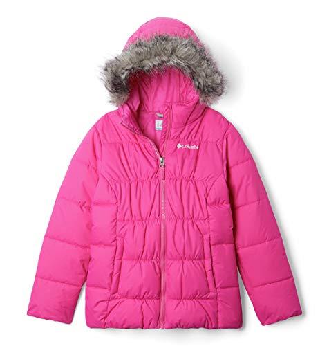 Columbia Mädchen Ski-Jacke, Gyroslope, Rosa (Pink Ice), XL