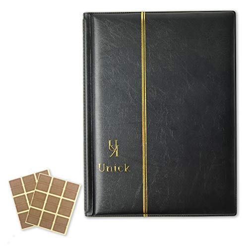 [Unick] ビックリマンチョコシール用ファイル アルバム コレクション ケース B5サイズ 240枚収納 ブラック