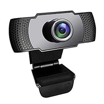 Webcam with Microphone Lantoo 1080P HD Streaming USB Computer Webcam Camera Plug and Play [30fps] for PC Laptop Desktop Mac Video Conferencing Calling Gaming Skype YouTube Zoom Facetime