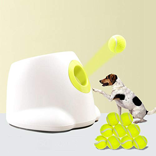 Xeples Pelota de Juguete, máquina de Pelotas de Tenis, Lanzador, Mascota, Lanzador, máquina de Pinball, Lanzamiento automático