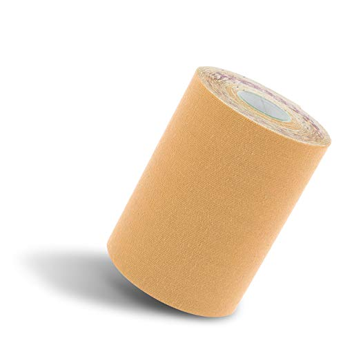 Kinesiology Tape Roll   Extra wide Kinesiology   Reduce Pain and Inflammation, Athletic Tape Preferred by Athletes, High-Grade Water-Resistant Material, Help Re-Train Muscles