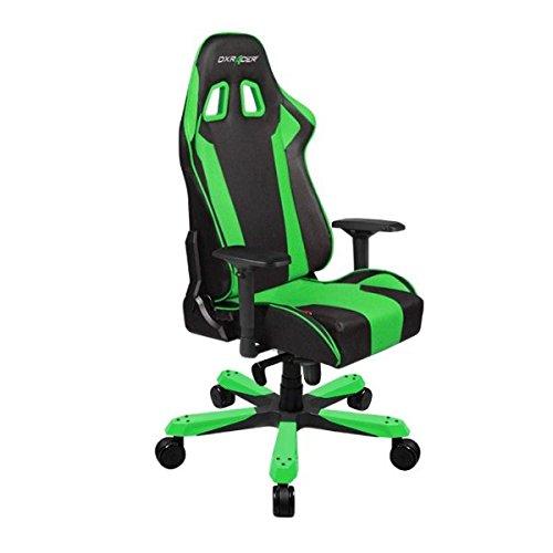DXRacer Gaming Stuhl, OH/KS06/NE, K-Serie, schwarz-grün, das Original von DX Racer