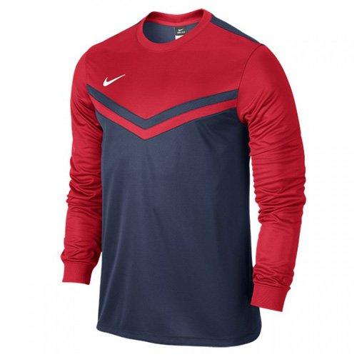 Nike Herren Jersey Victory II Langarm Trikot, Midnight Navy/University Red/White, L