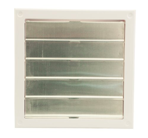 """Cool Attic CX2121 Automatic Gable Vent Shutter, High Impact One-Piece ABS Cycolac Frame, 22"""" W x 23"""" H x 3"""" D"""