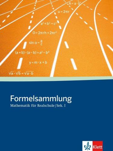Formelsammlung Mathematik für Sekundarstufe I: Klasse 5-10