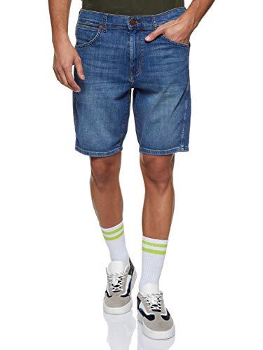 Wrangler Herren 5 Pocket Shorts, Grün (Green Vent 27m), 36W