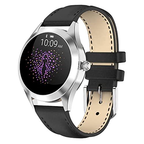 ZFF Smart Watch - Pulsera Inteligente Reloj Deportivo Multifuncional Femenino de la joyería Impermeable Pedómetro Monitoreo de Ritmo cardíaco y presión Arterial Regalo de cumpleaños