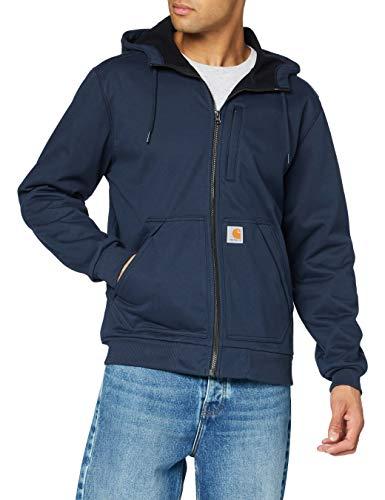 Carhartt Herren Wind Fighter Sweatshirt, Navy, XXL