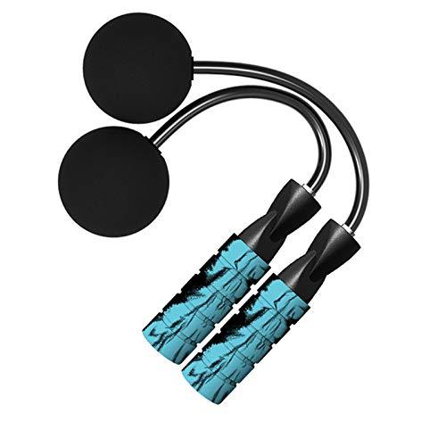 N&A Azul Cuerda de Saltar Sin Cable Cuerda de Saltar Entrenamiento Físico pPara iInteriores y Exteriores Pérdida de Peso para Deportes Fitness Pérdida de Peso para Deportes Fitness