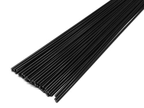 Alambre de soldadura de plástico PP 3mm Redondo Negro 900–1100mm barra 1 kg