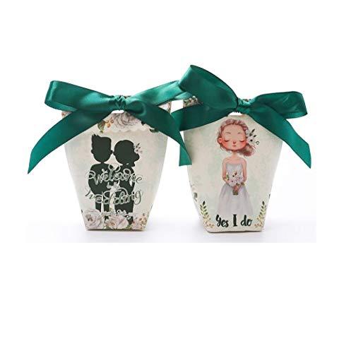 Creatieve snoepgoed-geschenkdoos met 30 snoepjes voor Halloween, snoepgoed 30 A4