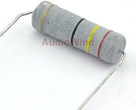 Electronics-Salon 10PCS 24 Ohm 5 Watts 5W Metal Oxide Film Resistor.