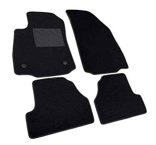 Fußmatten für Opel Mokka und Mokka X ab 2012> maßgeschneidert, rutschfest, PVC-Absatzschoner und Befestigung...