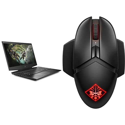HP OMEN 15-dh1010na 15.6 Inch Full HD, 144 Hz Gaming Laptop with HP OMEN Photon Wireless Mouse and HP OMEN 300 Gaming Mouse Pad
